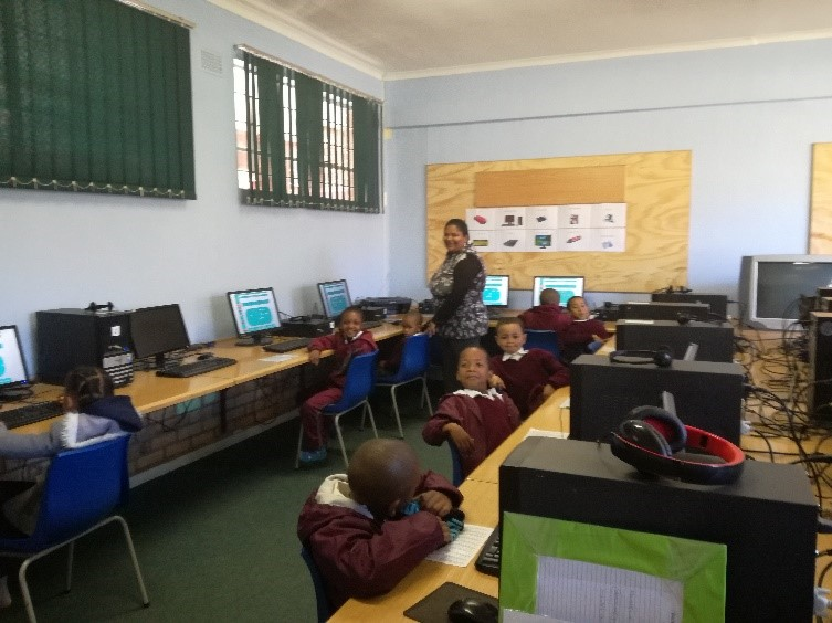 All children use the CAMI Education Software to support their learning.
