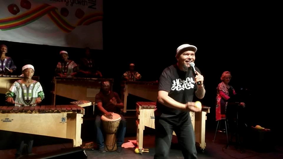 Performance at Artscape Theatre in Cape Town