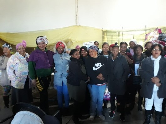 Empowering women increases the overall capacity of a community